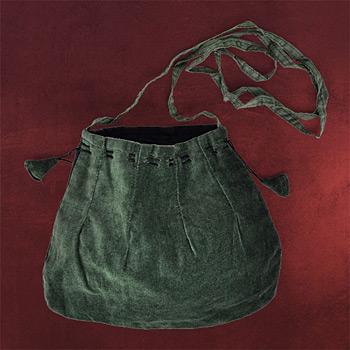 Mittelalter Tasche gr�n