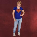 Superman Logo Girlie Shirt