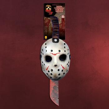 Jason - Maske & Machete