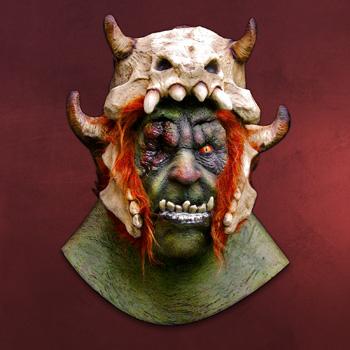 Orkberserker - Latexmaske