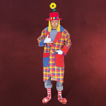 Clown Mantel - Kostüm