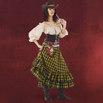 Wildwest Lady - Damenkost�m