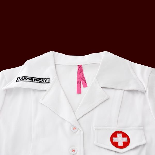 krankenschwester damen kost m 4 tlg schwestern outfit. Black Bedroom Furniture Sets. Home Design Ideas
