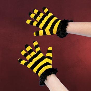 Handschuhe Biene - Kost�mzubeh�r