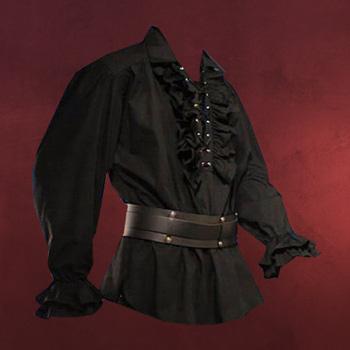 R�schenhemd schwarz