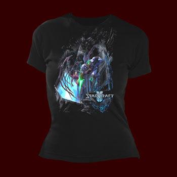 StarCraft II Wings of Liberty Battle Girlie Shirt