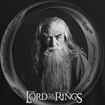 Gandalf B&W T-Shirt
