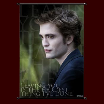 Twilight New Moon - Edward Wallscroll
