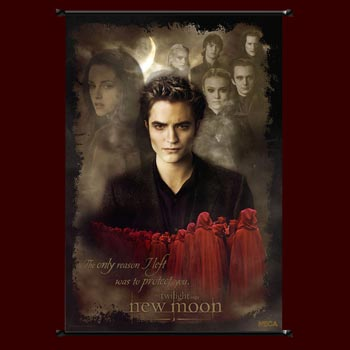 Twilight New Moon - Edward & Volturi Wallscroll