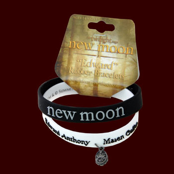 Twilight New Moon - Black &amp; White Armband