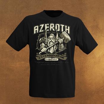 WoW Azeroth Kammerj�ger T-Shirt