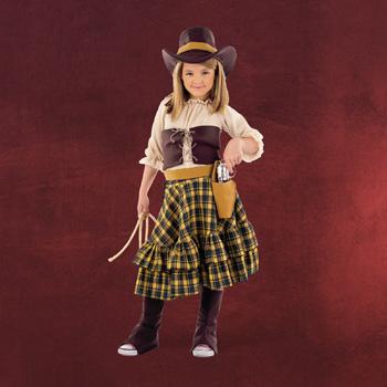Cowboylady - Kinderkostüm