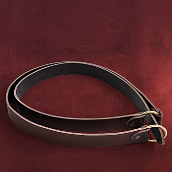 Mittelalterlicher Ring-G�rtel braun