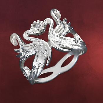 Elbenschwan Ring