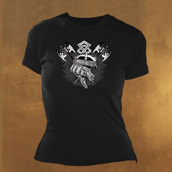 Gimli Heraldic Girlie Shirt