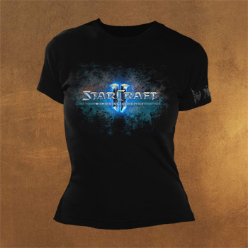 StarCraft II Logo Girlie Shirt