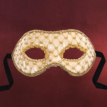 Venezianische Maske - Colombina velluto