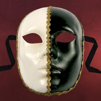 Venezianische Maske - Volto