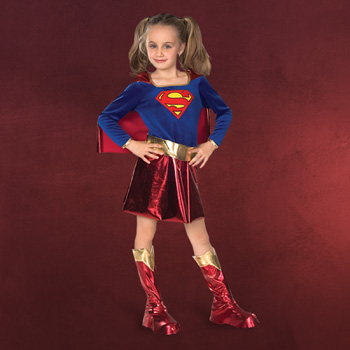 Super Girl - Kinderkostüm