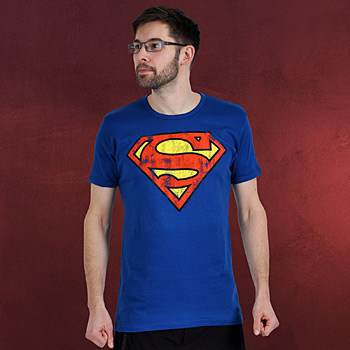 Superman - Retro Logo T-Shirt