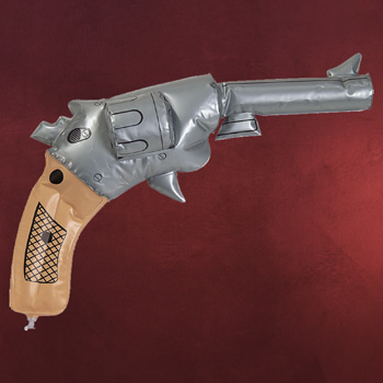 Aufblasbarer Revolver