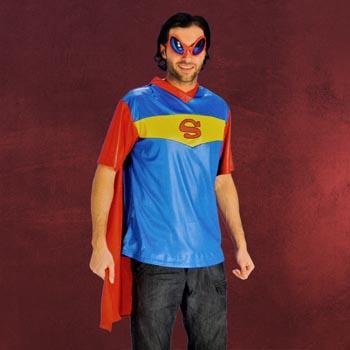 Super Hero Shirt mit Cape