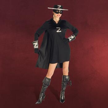 Zorro Lady - Damenkostüm