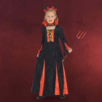 Teufelin - Kinderkost�m