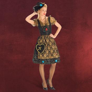 Gloria - Festliches Dirndl mit Schürze - Damenkostüm