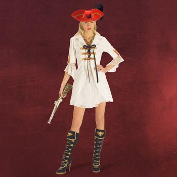 Piraten Lady - Damenkostüm