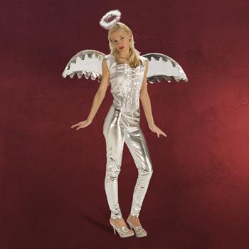 Engel Mieder mit Flügeln - Kostüm