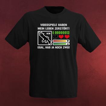 Videospiele haben mein Leben zerstört T-Shirt