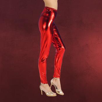 Leggings rot - Kostümzubehör