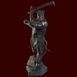 Orc The Lord of the Rings - lebensgro�e Statue
