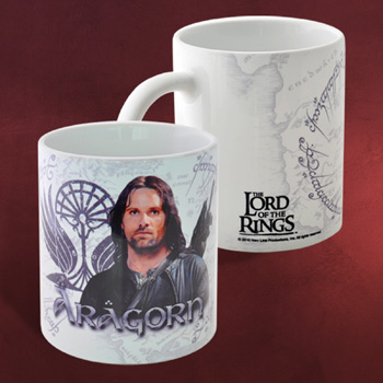 Aragorn - Herr der Ringe Tasse