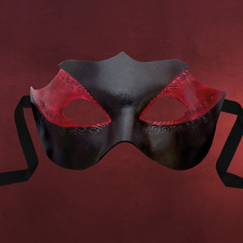 Venezianische Maske - Colombina Novella