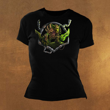 World of Warcraft Goblin Girlie Shirt