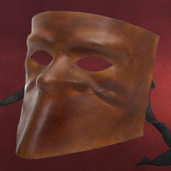 Venezianische Maske - Bauta de cuoio