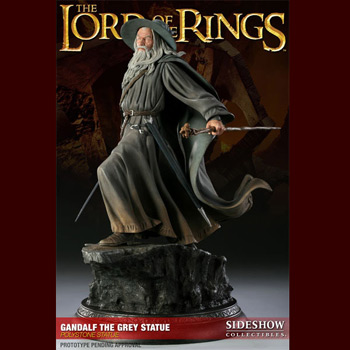 Herr der Ringe - Gandalf der Graue Statue