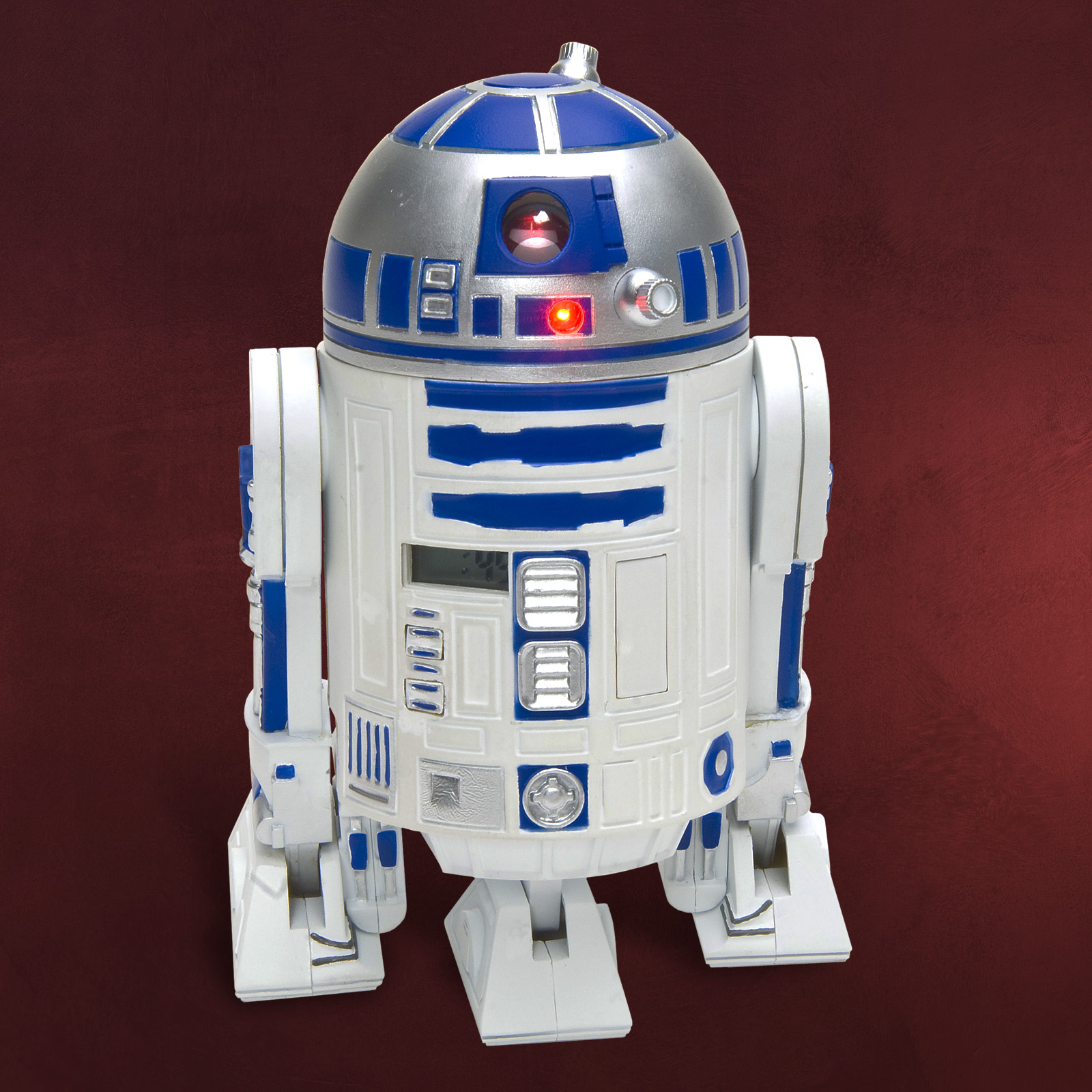 star wars clone wars r2 d2 wecker mit sound projektion. Black Bedroom Furniture Sets. Home Design Ideas