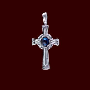 Keltisches Kreuz - Anh�nger mit Kordel