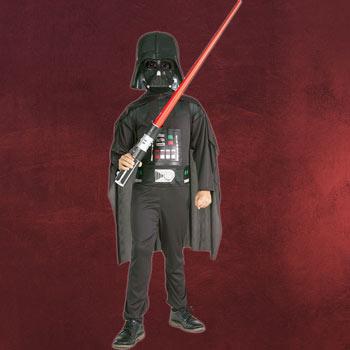 Darth Vader Kost�mset f�r Kinder