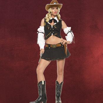Sexy Cowboy Lady - Kostüm