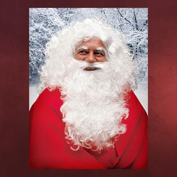 Weihnachtsmann - Bart und Per�cke