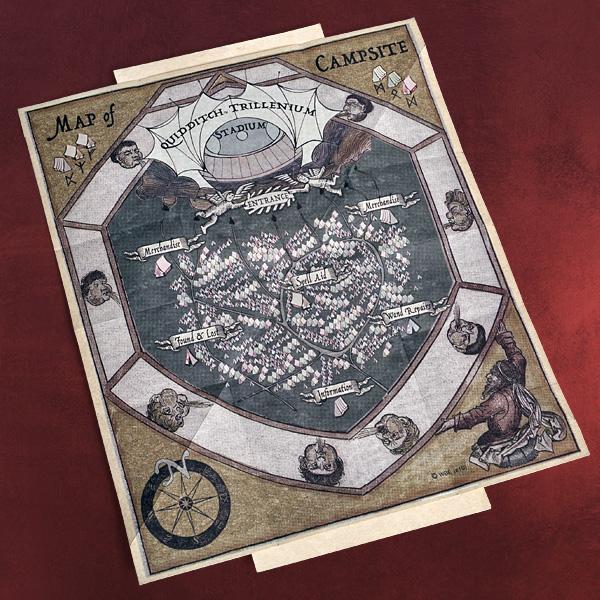 Ron weasley artefact box hp fan box zum film 8 teilig - Harry potter basteln ...