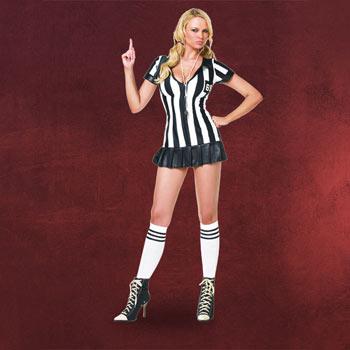 Sexy Schiedsrichterin