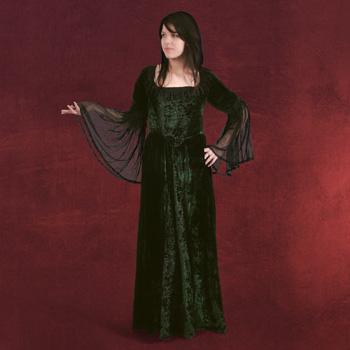 Melinda - Kleid dunkelgr�n