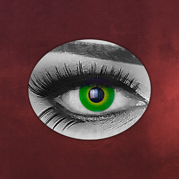 Hulk - Kontaktlinsen