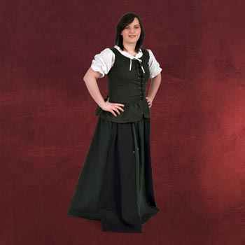 Estrella - Mittelalter Rock schwarz-grün