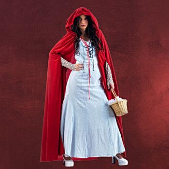 Cape mit Kapuze inkl. Kleid
